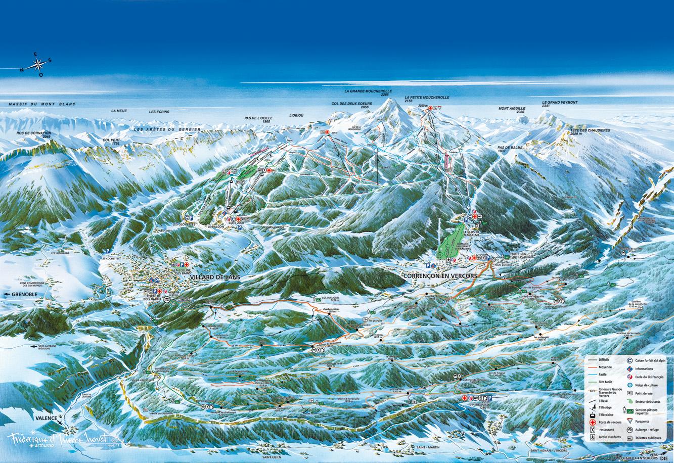 Venez skier a villard de lans studio moderne - Office de tourisme de villard de lans ...